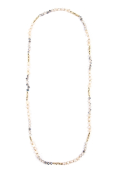 Riah Fashion Stretchable Long Necklace - Product List Image