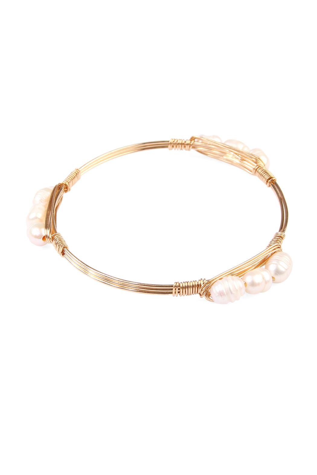 Riah Fashion Simply Wired Bracelet - Main Image