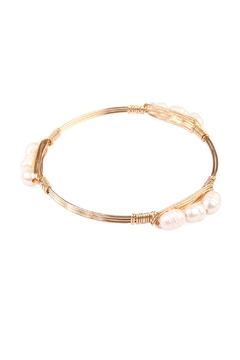 Riah Fashion Simply Wired Bracelet - Alternate List Image