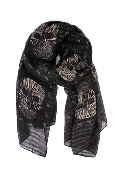 Shoptiques Product: Skull Printed Scarf