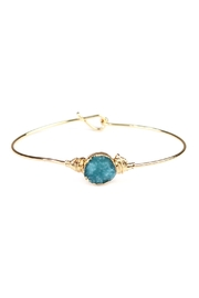 Riah Fashion Small-Wired Round-Resin Druzy-Bracelet - Product Mini Image