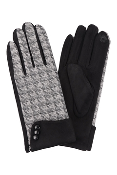 Riah Fashion Smart-Touch-Gloves-W/-Button - Product List Image