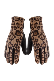 Riah Fashion Smart-Touch-Leopard-Gloves - Product Mini Image