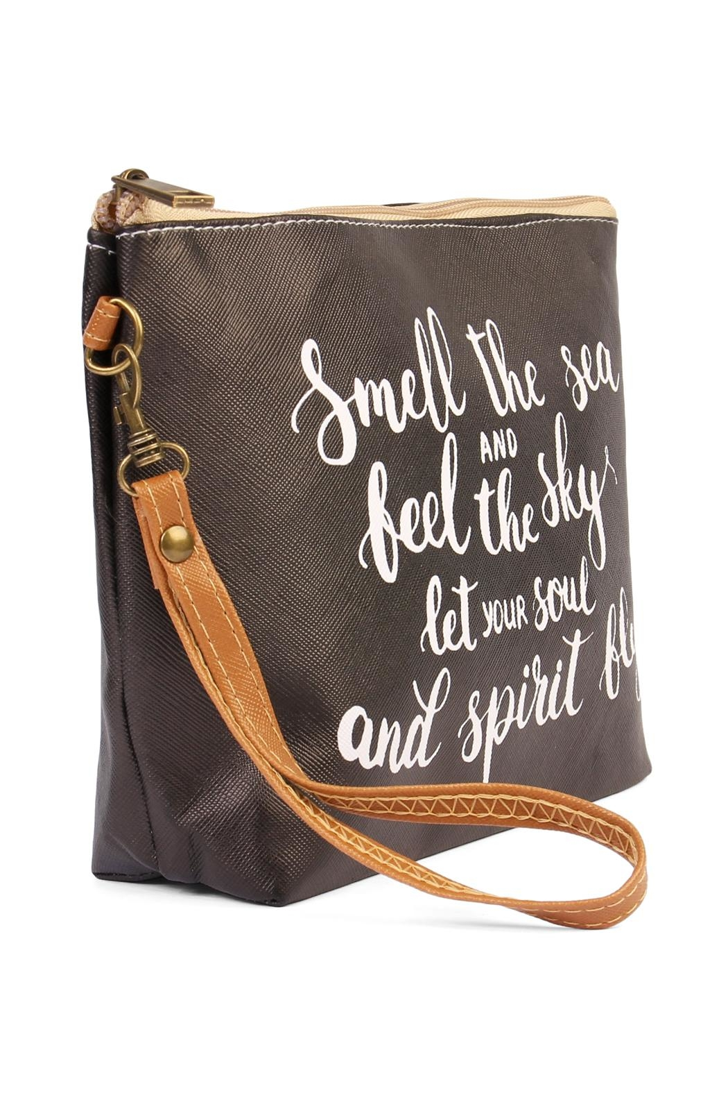 Riah Fashion Smell The Sea Bag - Front Full Image
