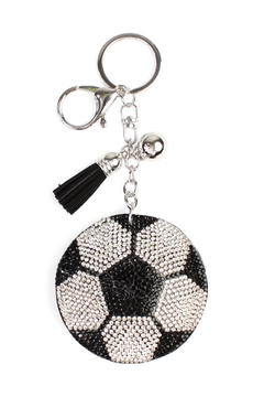 Shoptiques Product: Soccer Ball Keychain