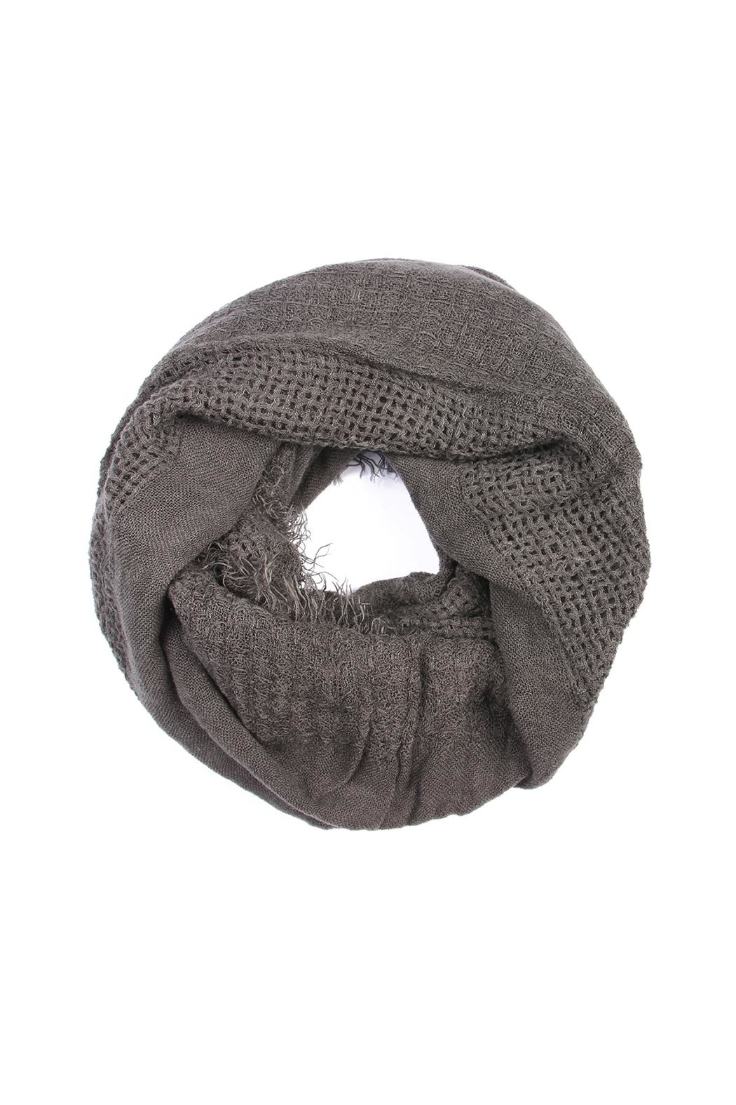 Riah Fashion Soft Infinity Scarf - Front Cropped Image