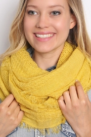 Riah Fashion Soft Infinity Scarf - Side cropped