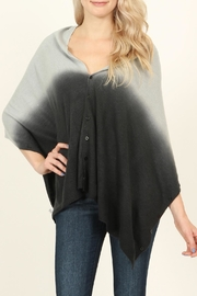 Riah Fashion Soft Ombré Button Cardigan - Front cropped