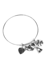 Riah Fashion Softball Mom Wired-Sports-Bracelets - Product Mini Image