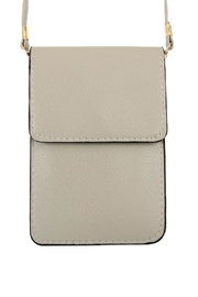 Riah Fashion Solid Cellphone-Crossbody-With-Clear-Window - Product Mini Image