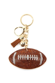 Riah Fashion Sports Football Keychain - Product Mini Image