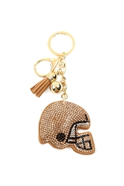 Riah Fashion Sports Helmet Keychain - Product Mini Image