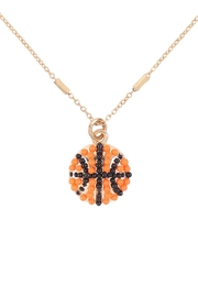 Riah Fashion Sports-Seed-Bead-Chain-Necklace - Product Mini Image