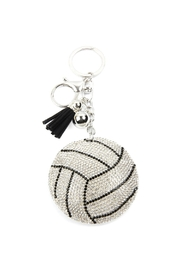 Riah Fashion Sports Volleyball Keychain - Product Mini Image