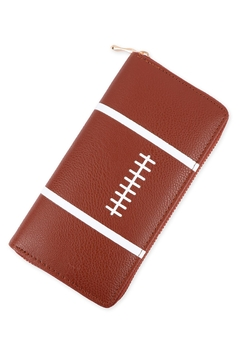 Riah Fashion Sports-Zipper-Leather-Wallet - Product List Image