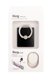 Riah Fashion Square Phone Ring-Holder-&-Hook-Set - Product Mini Image