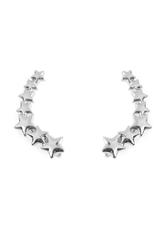 Riah Fashion Star Crawler Earrings - Product Mini Image