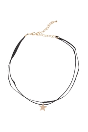 Riah Fashion Star Pendant Choker - Product Mini Image