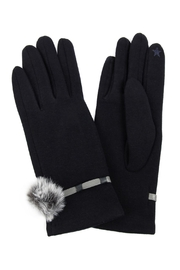 Riah Fashion Strap-With-Pom-Pom-Smart-Touch-Gloves - Product Mini Image