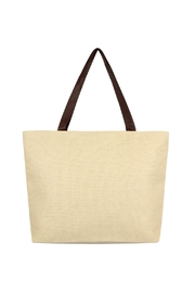 Riah Fashion Straw Tote Bag - Product Mini Image