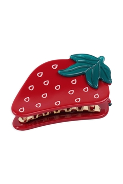 Shoptiques Product: Strawberry-Hair-Claw-Clip
