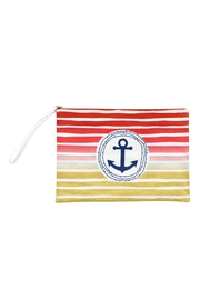 Riah Fashion Stripe-Anchor-Pouch - Front cropped