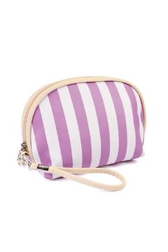 Shoptiques Product: Striped Cosmetic Pouch