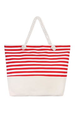 Shoptiques Product: Striped Tote Bag