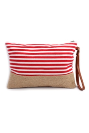 Riah Fashion Striped Wrislet Pouch - Product Mini Image
