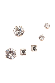 Riah Fashion Stud Earrings Set - Front cropped