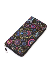 Riah Fashion Black Printed Wallet - Product Mini Image