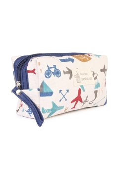 Riah Fashion Summer-Airplane-Cosmetic-Pouch - Product List Image