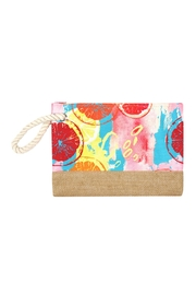 Riah Fashion Summer Fruits Pouch - Product Mini Image