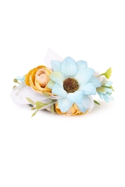 Riah Fashion Sunflower Cuff Bracelet - Product Mini Image