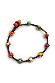 Riah Fashion Sweet-Flower Bead Bracelet - Front cropped
