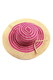 Riah Fashion Swirl Floppy Hat - Product Mini Image