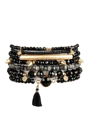 Riah Fashion Tassel-Charm Bracelet Set - Product Mini Image