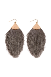 Riah Fashion Tassel Drop Earrings - Product Mini Image