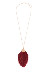 Riah Fashion Tassel Pendant Necklace - Product Mini Image