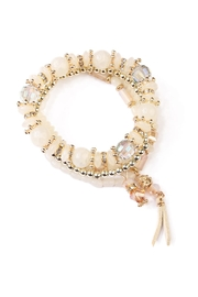 Riah Fashion Tassel Stretch Bracelet - Product Mini Image