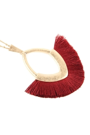Riah Fashion Tassel With-Metal-Pendant-Necklace - Product Mini Image