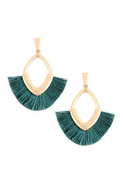 Riah Fashion Tassel With Metal Post-Earrings - Product Mini Image