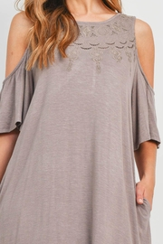Riah Fashion Taupe Dress - Other