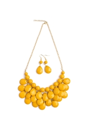 Riah Fashion Kenny Bubble Necklace Set - Product Mini Image