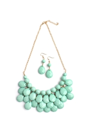 Riah Fashion Teardrop Necklace Set - Product Mini Image