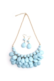 Riah Fashion Bubble Bib Necklace Set - Product Mini Image