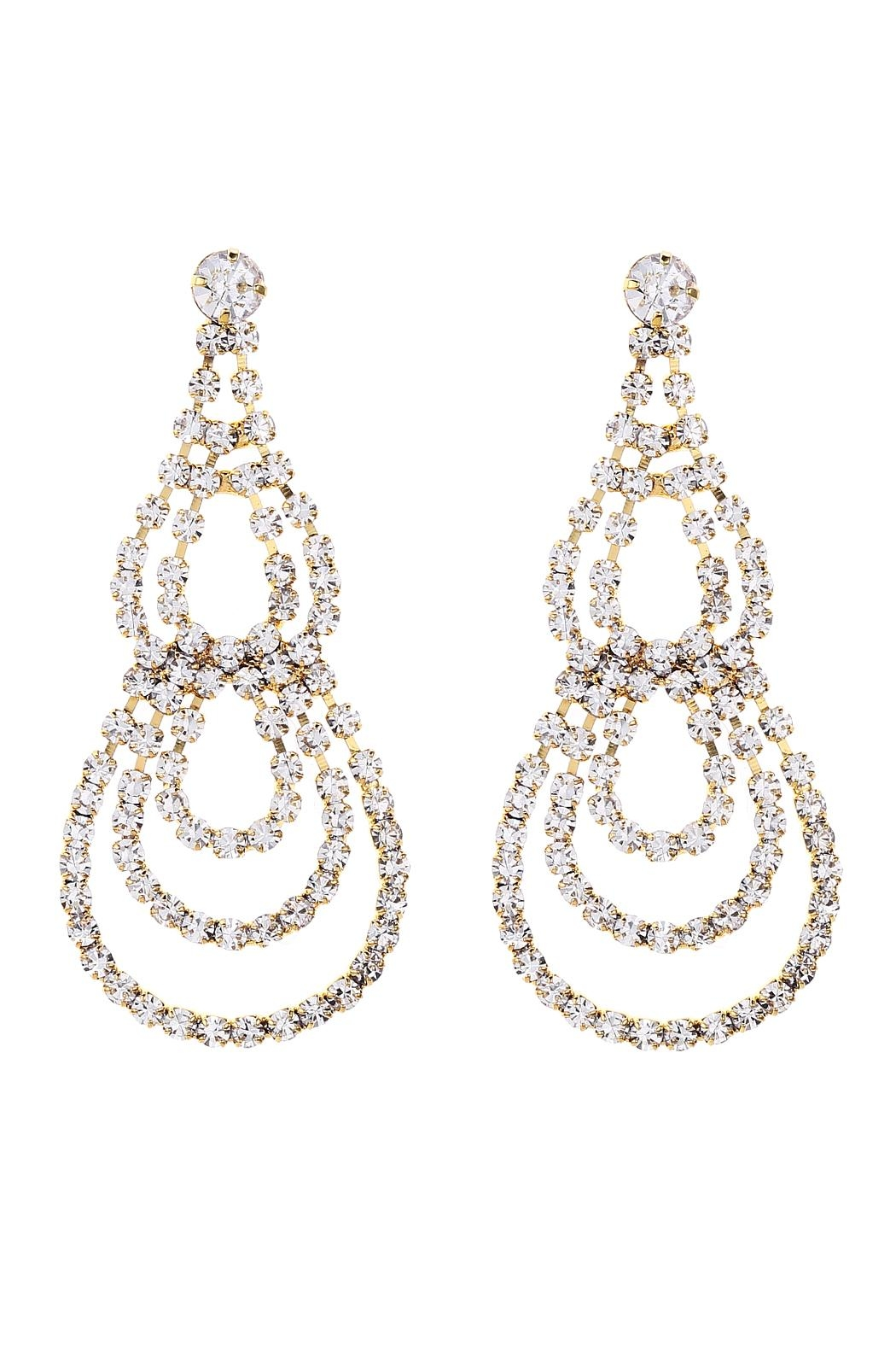 Riah fashion teardrop chandelier earrings from california shoptiques riah fashion teardrop chandelier earrings front cropped image arubaitofo Choice Image