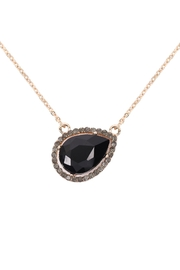 Riah Fashion Teardrop-Shape -Pendant-Necklace - Product Mini Image