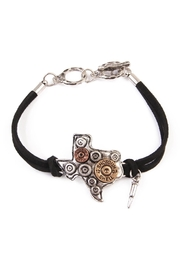 Riah Fashion Texas Charm Bracelet - Front cropped