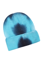 Riah Fashion Tie-Dye-Knitted-Multicolor-Beanie - Side cropped